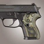 SIG Sauer P224 DA/SA G10 Checkered G-Mascus Green