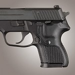 SIG Sauer P224 DA/SA G10 Checkered Solid Black