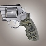 S&W N Frame Round Butt Conv G-10 Smooth G-Mascus Green