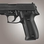SIG Sauer P226 DAK G10 Checkered Solid Black