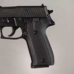 SIG Sauer P226 DA/SA Alum Checkered Matte Black