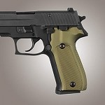 SIG Sauer P226 DA/SA Alum Checkered Matte Green
