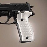 SIG Sauer P226 DA/SA Alum Checkered Brushed Gloss Clear