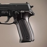 SIG Sauer P226 DA/SA Alum Checkered Brushed Gloss Black