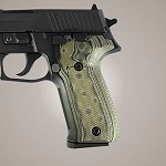 SIG Sauer P226 DA/SA G10 Checkered G-Mascus Green