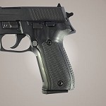 SIG Sauer P226 DA/SA G10 Checkered Solid Black