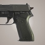 SIG Sauer P225 G10 Checkered Solid Black
