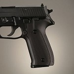 SIG Sauer P228 P229 DA/SA Alum Checkered Matte Black