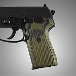 SIG Sauer P239 DA/SA G10 Checkered G-Mascus Green