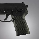 SIG Sauer P239 DA/SA G10 Checkered Solid Black