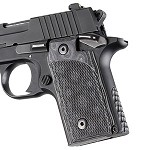 SIG Sauer P238 G10 Checkered G-Mascus Black/Gray