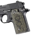 SIG Sauer P238 G10 Checkered G-Mascus Green