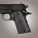 1911 Officers G10 G-Mascus Black/Gray