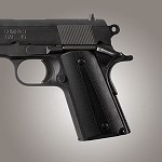 1911 Officers G10 Solid Black