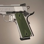 1911 Govt Aluminum Checkered Matte Green