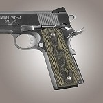 1911 Govt G10 Checkered G-Mascus Green