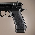 CZ 75 - CZ 85 Aluminum Checkered Matte Black