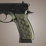 CZ 75 - CZ 85 G10 Checkered G-Mascus Green