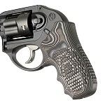 Ruger LCR Enclosed Hammer G10 Piranha G-Mascus Black/Gray