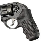 Ruger LCR Enclosed Hammer G10 Piranha Solid Black