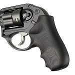 Ruger LCR Enclosed Hammer G10 Smooth Solid Black