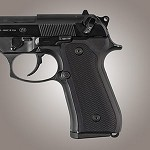 Beretta 92FS Alum Checkered Matte Black