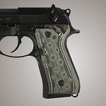 Beretta 92FS G10 Checkered G-Mascus Black/Gray