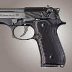 Beretta 92FS G10 Checkered Solid Black