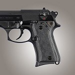 Beretta 92 Compact G10 Checkered G-Mascus Black/Gray