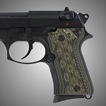Beretta 92 Compact G10 Checkered G-Mascus Green