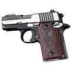 SIG Sauer P938 Ambi G10 Smooth G-Mascus Red Lava