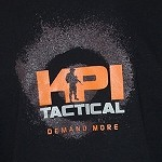 Black KPI Tactical Logo T-Shirt