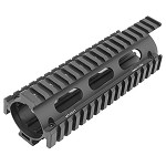 M4/AR15 Car Length Drop-in Quad Rail with Extension