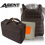 Black AGENT Ballistic Vest Level IIIA Body Armor