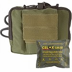 OD Green NAR-4 Chest Pouch w/ Celox Gauze