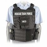 Black Side Armor Rescue Task Force Vest Kit