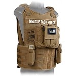 Coyote Side Armor Rescue Task Force Vest Kit