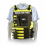 Yellow Side Armor Rescue Task Force Vest Kit