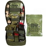 OD Green Tactical Operator Response KIT (TORK) with Combat Gauze