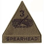 Spearhead 3rd Armored Patch - Subdued