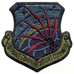 USAF Communications Command Patch - Subdued