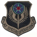 Usaf Special Ops Patch - Subdued