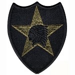 US Army 2nd Division Patch - Subdued