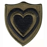 24th Corps Patch - Subdued