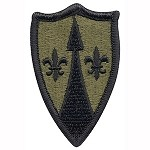 US Theater Army SPT Command Europe Patch - Subdued