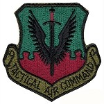 Tactical Air Command Patch - Subdued
