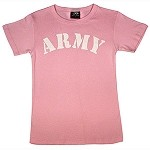 Pink T-Shirt with ARMY