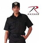 Black Short Sleeve Tactical Shirt