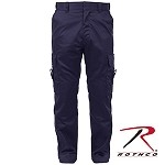 Deluxe Navy Blue E.M.T. Pants