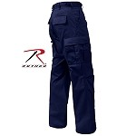 Midnite Blue Zipper Fly Uniform Pants